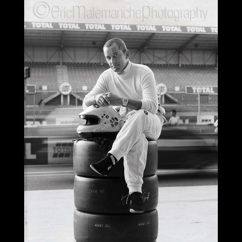 Christophe Dechavanne circuit du Mans