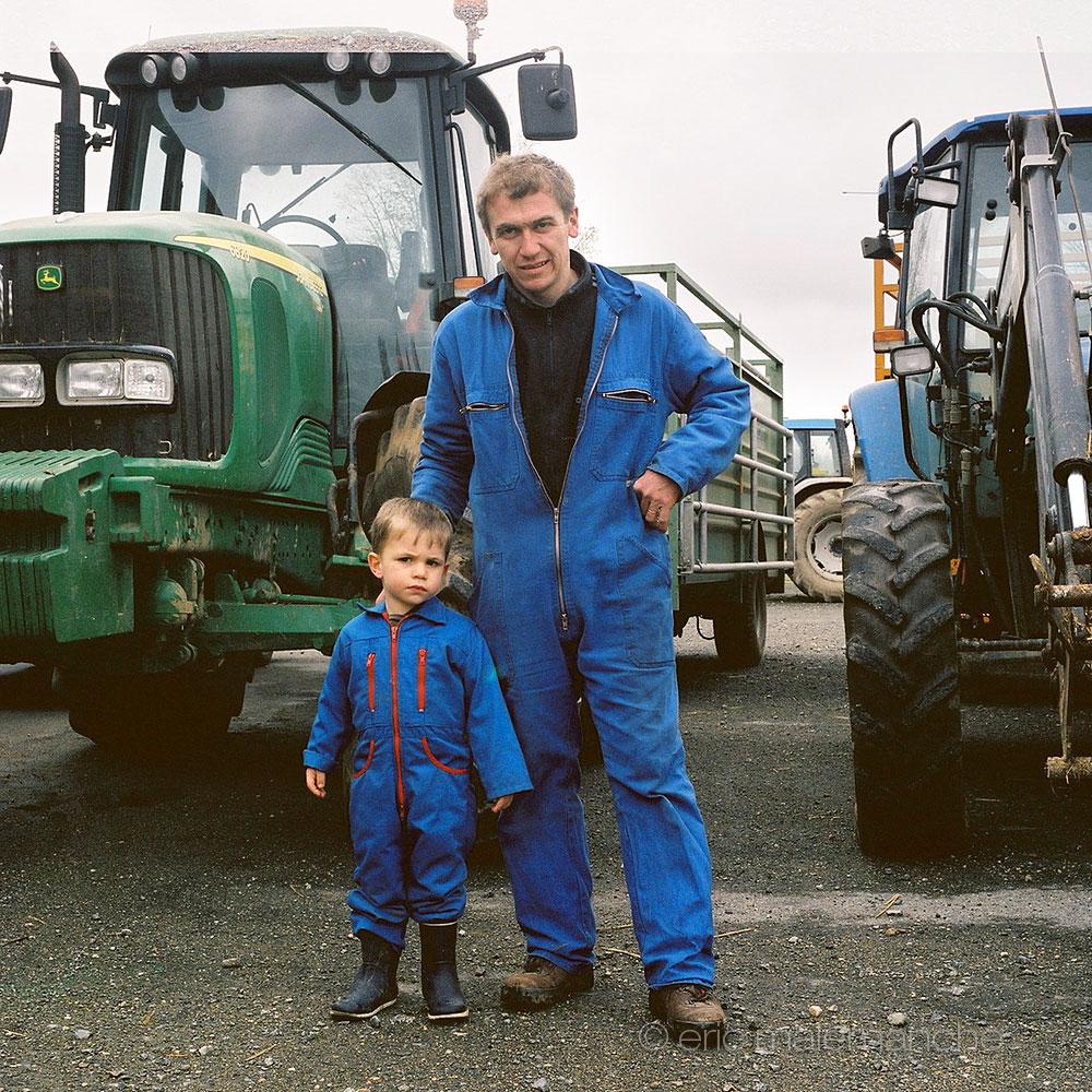 Portraits De Bretons Agriculteurs