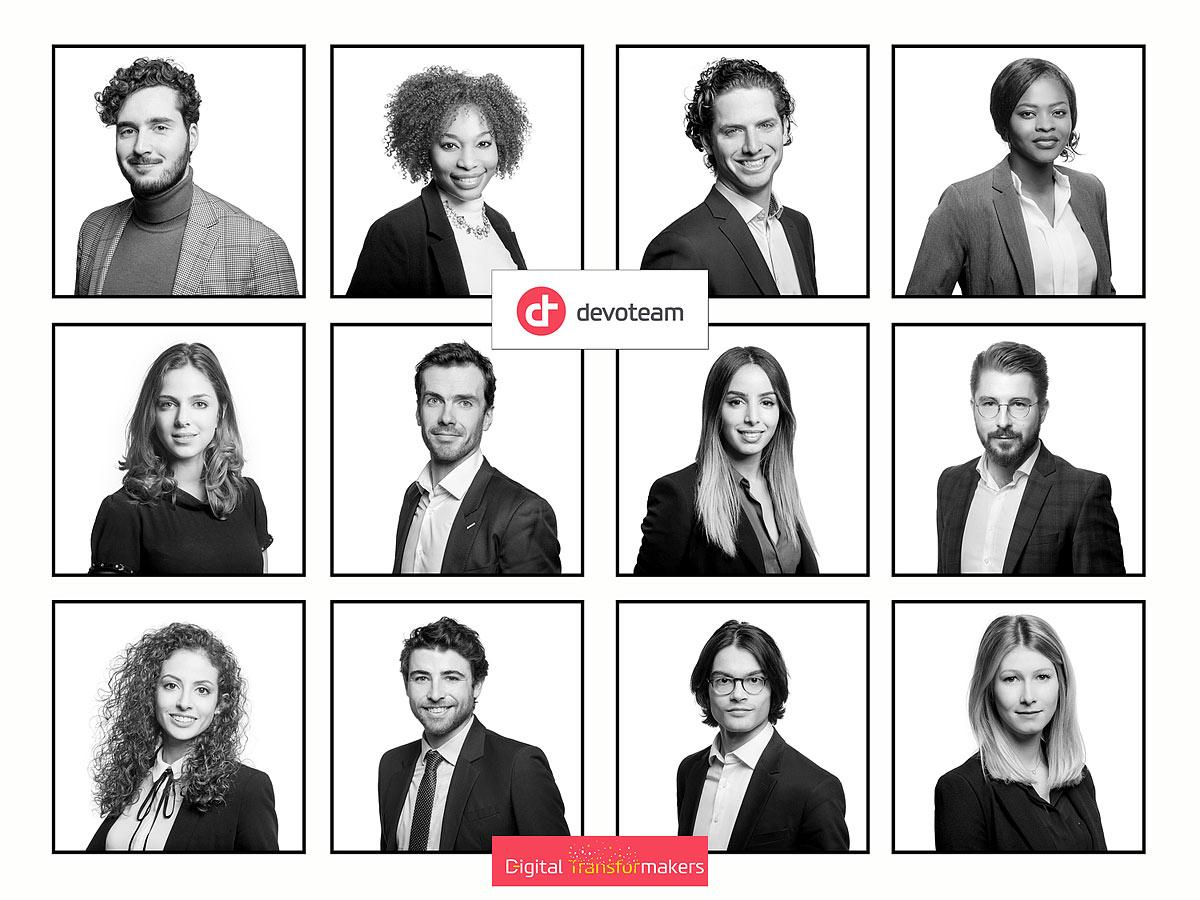 Portraits Collaborateurs Levallois